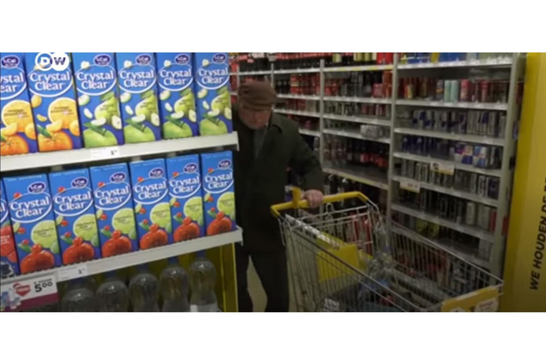 Hollanda'da yalnız insanlar için market