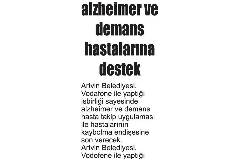 Alzheimer ve Demans Hastalarına Destek