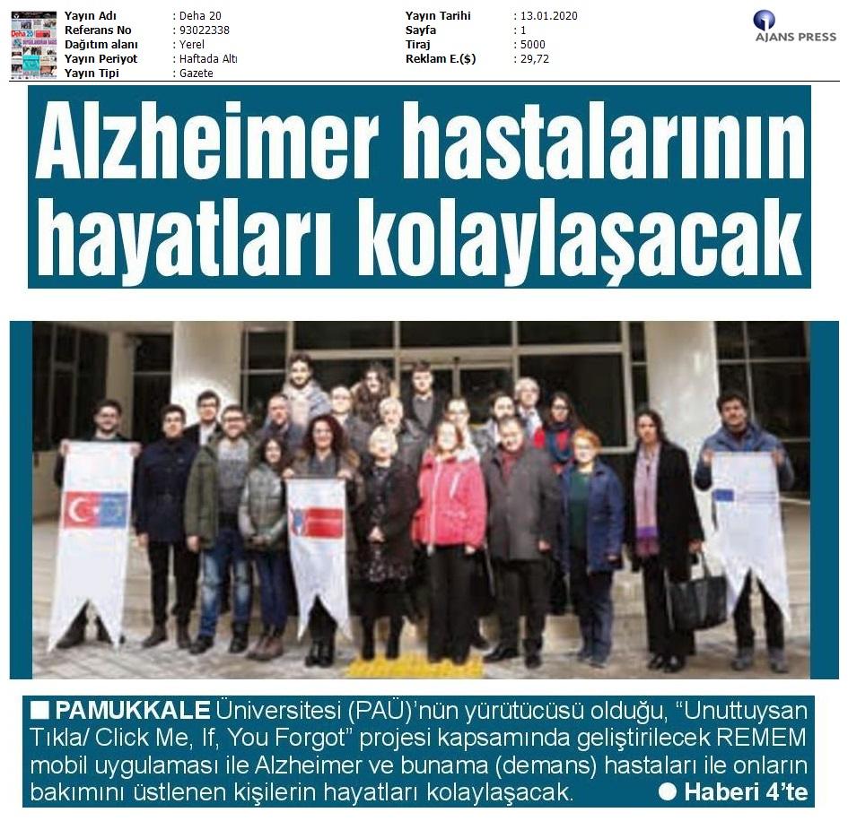 Alzheimer Hastalarının Hayatları Kolayşacak