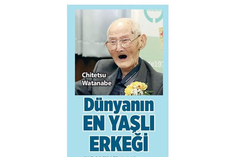 Dünyanın En Yaşlı Erkeği