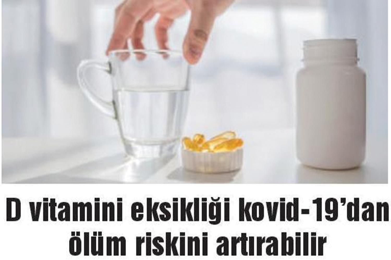 D Vitamini Eksikliği Kovid