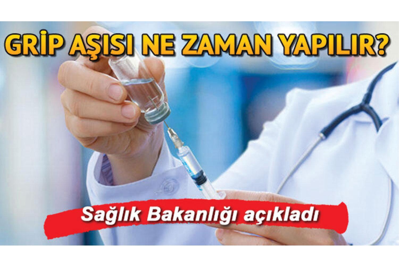 Grip aşısı ne zaman yapılır, kimler yaptırmalı? Sağlık Bakanlığı grip aşısı yaptırması gereken kişileri açıkladı