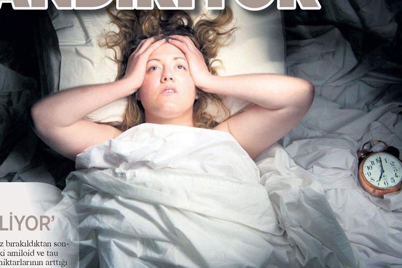 Uyku Bozukluğu Beyni Hızlı Yaşlandırıyor