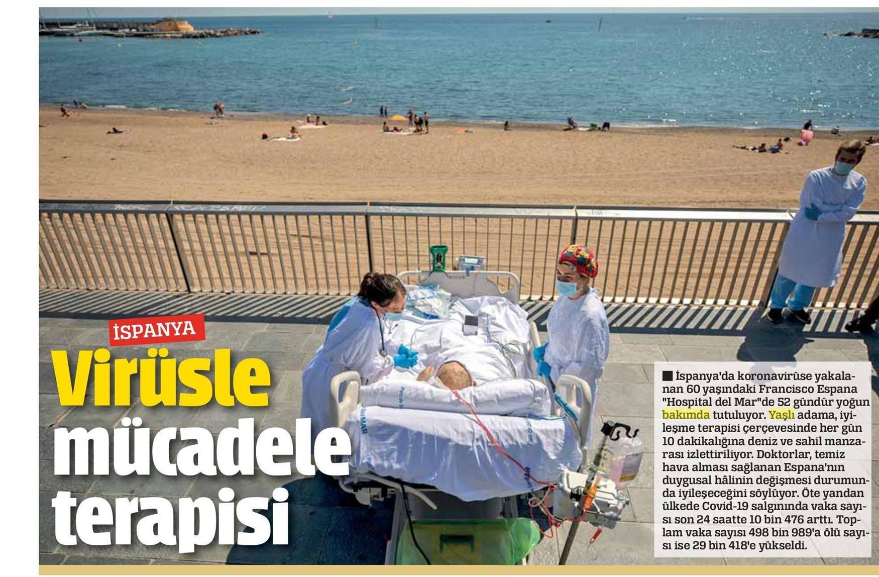 İspanya'da Virüsle Mücadele Terapisi