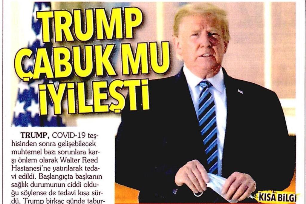 Trump Çabuk mu İyileşti
