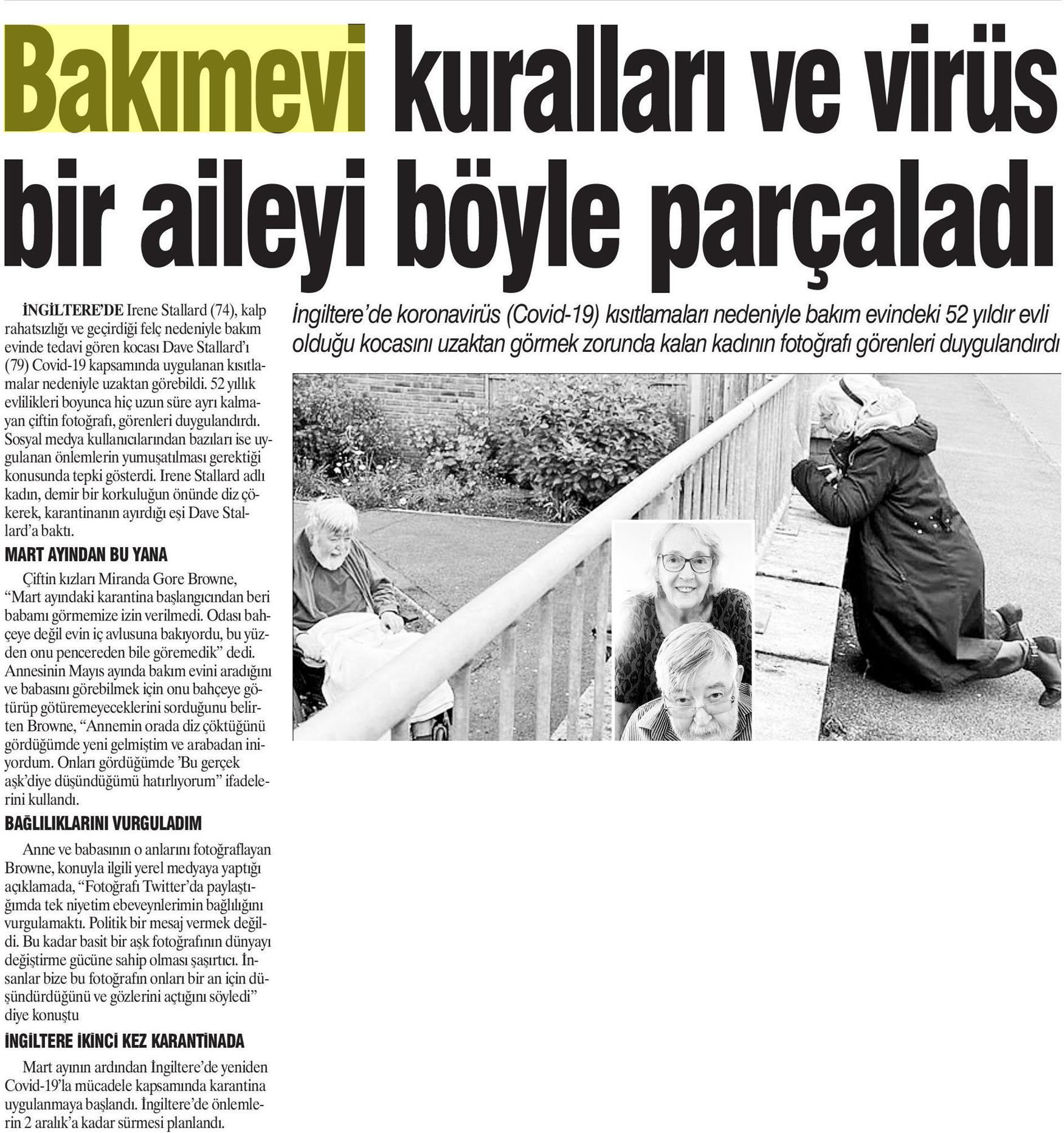 Bakımevi Kuralları ve Virüs Bir Aileyi Böyle Parçaladı